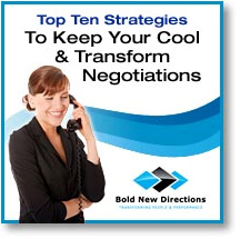 Keep Your Cool & Transform Negotiations